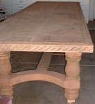 Sanded table picture