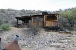 Old mine shack