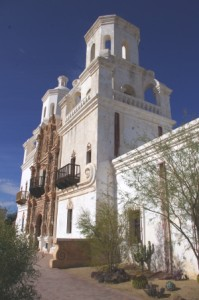 San Xavier Side View