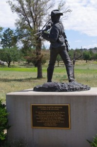 Statue of Corporal Greaves Picture