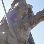 Apache Indian Scout Statue picture