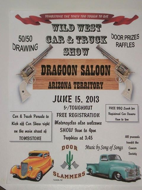Wild West Car Show Poster