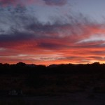 2006 Southeastern Arizona Sunset picture