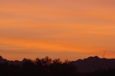2011 Southeastern Arizona Sunset Picture