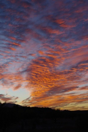 2012 Southeastern Arizona Sunset picture