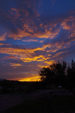 2013  Southeastern Arizona Sunset picture