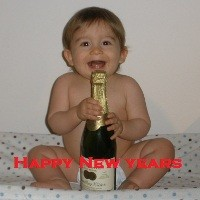 New Years Eve Baby Picture
