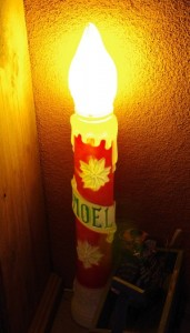 Noel Candle Picture