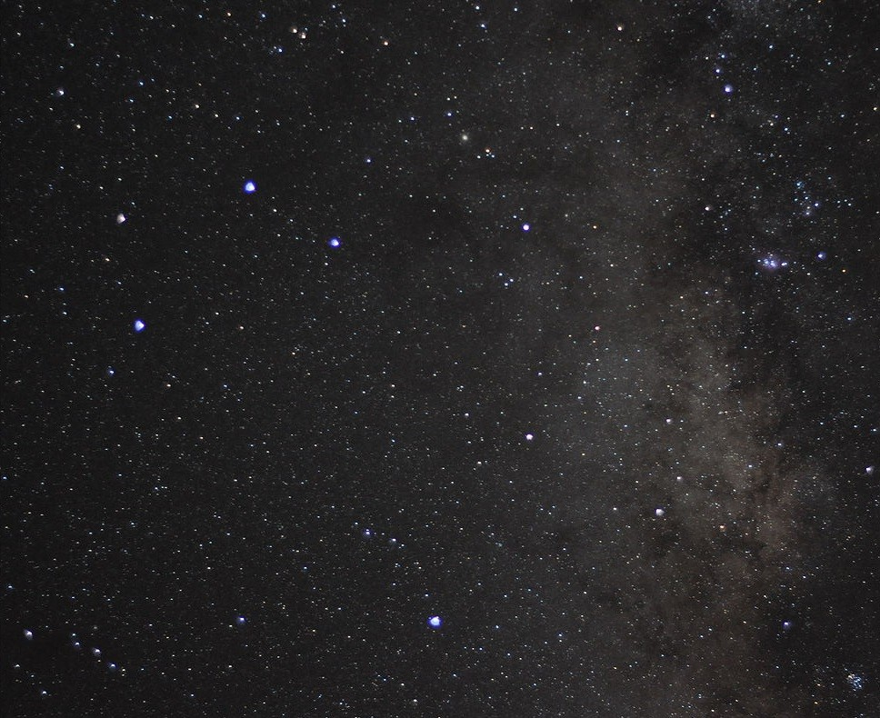 Sagittarius Constellation Picture stargazing in Benson, Arizona