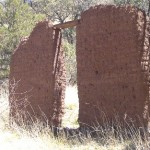 Southeast Arizona ghost town ruins can be found in Harshaw.