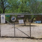 The open gate at Paton Hummingbird Haven picture
