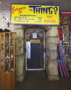 Entrance to The Thing picture