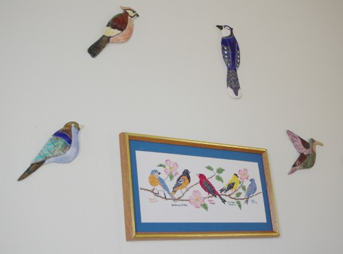 birders lodging theme room