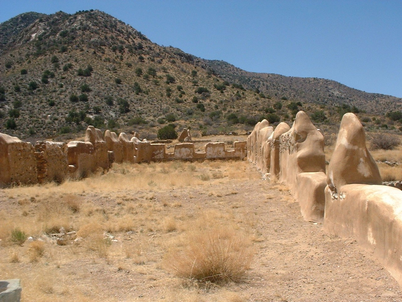 Cochise County Ruins - Photographing Yesteryear Down by the