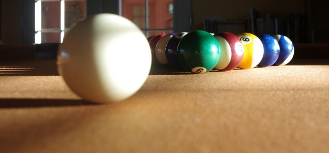 Pool Table balls